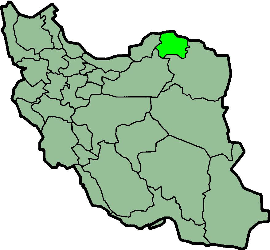 کد پستی استان خراسان شمالی