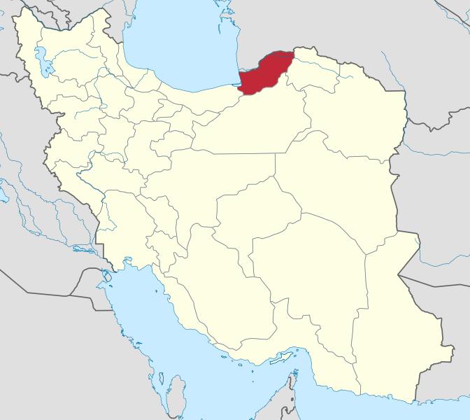 کد پستی استان گلستان