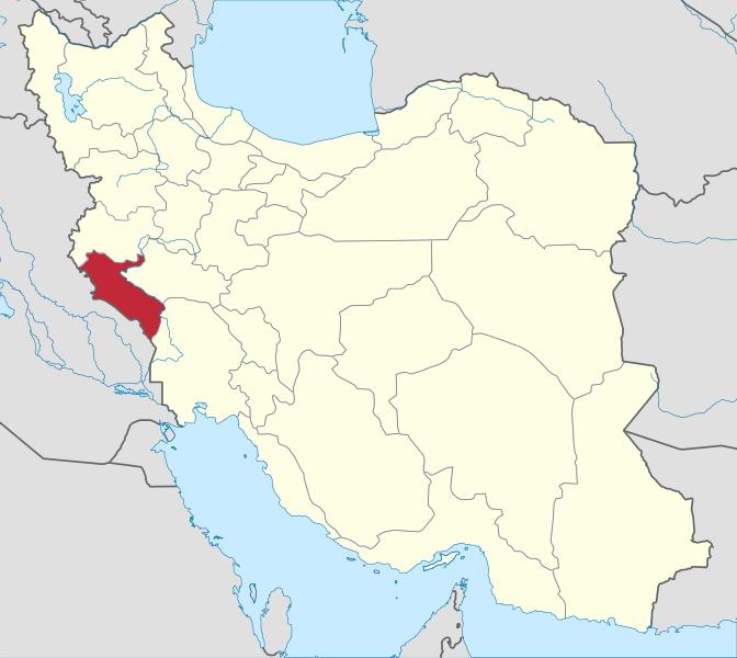 کد پستی استان ایلام