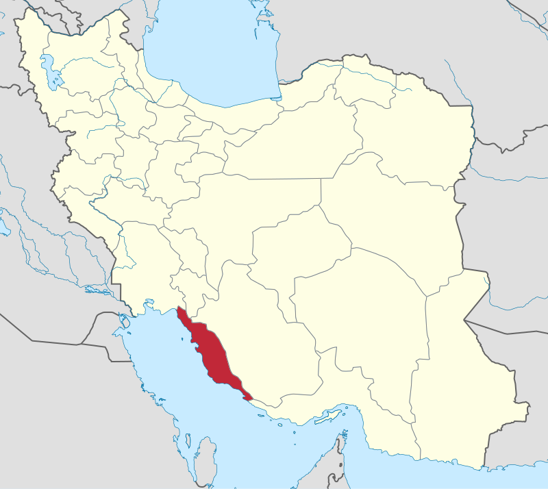 کد پستی استان بوشهر